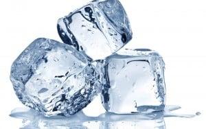 lód na pryszcze