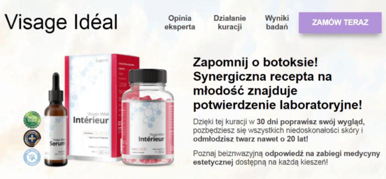 Visage Ideal Serum i Kapsułki - Cena, Forum, Opinie, Skład, Gdzie Kupić 2